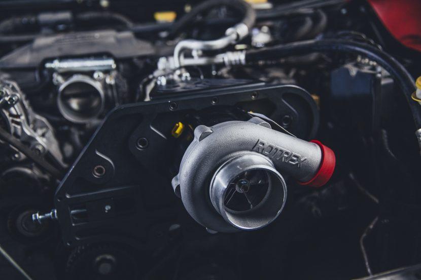 Motor mit Turbolader