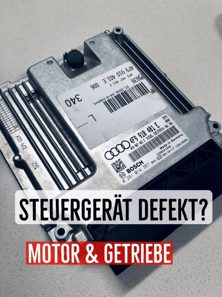 Bild Reparatur Motor und Getriebesteuergerät